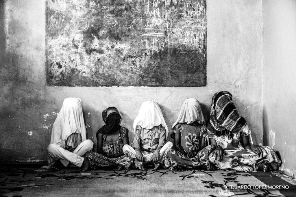 In the madrassa